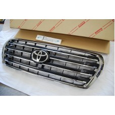 2012 2013 2014 2015 TOYOTA LANDCRUISER 202 BLACK CHROME GRILL GRILLE LC200
