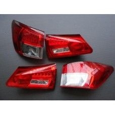 2005 2006 2007 2008 LEXUS IS250 IS350 LED REAR CRYSTAL TAIL LAMP CLEAR JDM