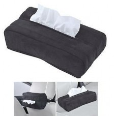 VIP SUEDE TISSUE BOX COVER BLACK TOYOTA SCION LEXUS xB