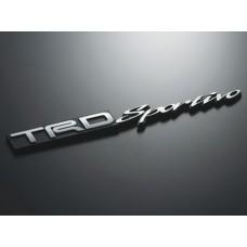 TRD JAPAN EMBLEM SPORTIVO SPORT TYPE TOYOTA LEXUS SCION GENUINE JDM JP