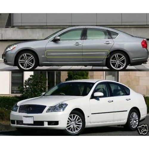 Nissan Fuga Infiniti M45 M35 Vip Side Mould Trim Chrome Y50 2004