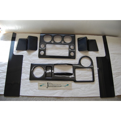 2006 2007 2008 2009 2011 2012 toyota fj cruiser carbon black lhd interior kit for Toyota fj cruiser interior accessories
