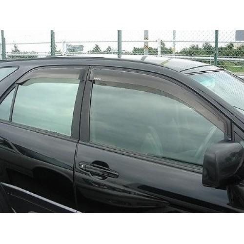 1999 2000 2001 2002 TOYOTA HARRIER LEXUS RX300 DOOR VISORS JDM VIP VISOR  JAPAN d4720bc2328