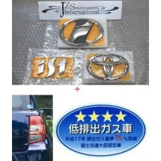 VALUE SET 2008 2009 2010 2011 2011 TOYOTA IST SCION xD VIP JAPAN REAR EMBLEM JDM