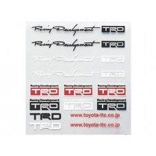TRD DECAL STICKER MINI LEXUS TOYOTA SCION xA xB xD tC IS CT GS ES LS SC RX LX GX
