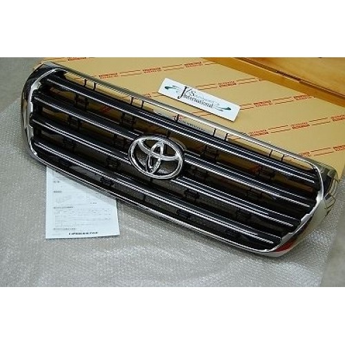 Chrome Grille Fit For Toyota Land Cruiser 08-11 LC200 J200 53101-60590