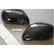 2005 2006 2007 2008 LEXUS IS250 IS350 CARBON BLACK SIDE DOOR MIRROR COVER JDM