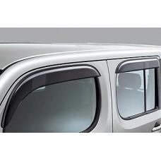 2009 2010 2011 2012 2013 NISSAN CUBE SIDE DOOR WINDOW VISOR VISORS JDM BLACK